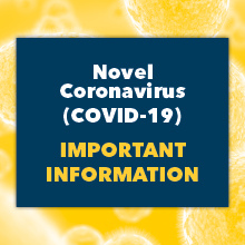 Novel Coronavirus Important Information